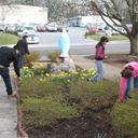 Grounds Clean Up March photo album thumbnail 8